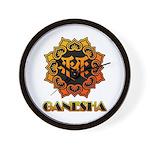 Ganesha bonji Wall Clock