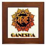 Ganesha bonji Framed Tile