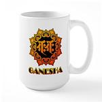 Ganesha bonji Large Mug