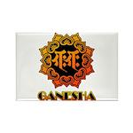 Ganesha bonji Rectangle Magnet