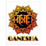 Ganesha bonji Small Poster