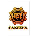 Ganesha bonji Large Poster