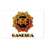 Ganesha bonji Postcards (Package of 8)