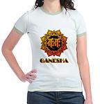 Ganesha bonji Jr. Ringer T-Shirt