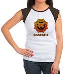 Ganesha bonji Women's Cap Sleeve T-Shirt