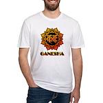 Ganesha bonji Fitted T-Shirt
