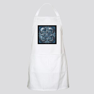 Silver & Blue Celtic Tapestry Apron