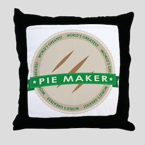 Apple Pie Maker Throw Pillow