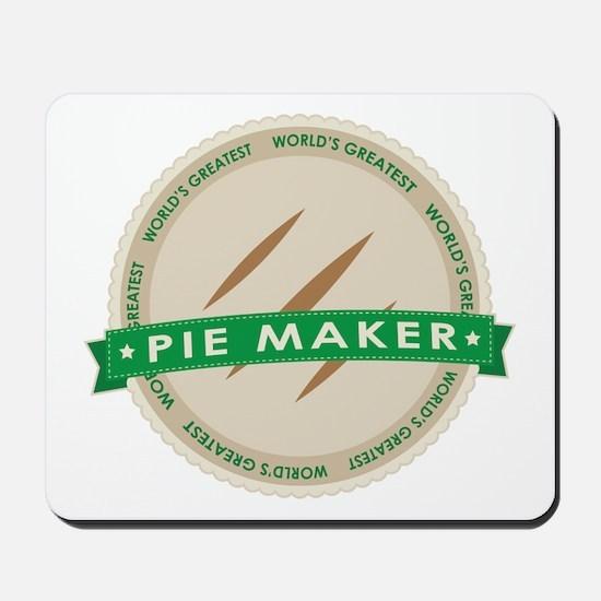Apple Pie Maker Mousepad