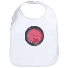 PIG BUBBLE Bib