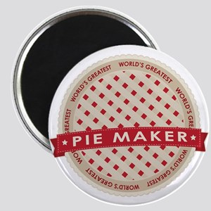 Cherry Pie Maker Magnet