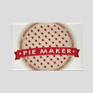 Cherry Pie Maker Rectangle Magnet