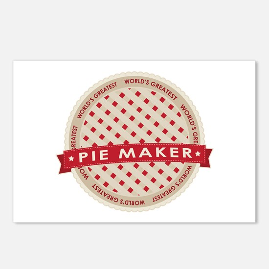 Cherry Pie Maker Postcards (Package of 8)