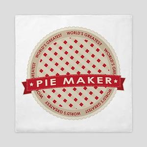 Cherry Pie Maker Queen Duvet