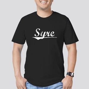Aged, Syre Men's Fitted T-Shirt (dark)