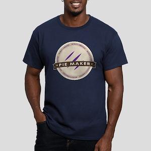 Plum Pie Maker Men's Fitted T-Shirt (dark)
