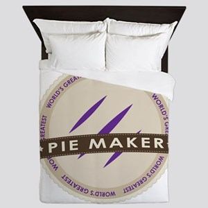 Plum Pie Maker Queen Duvet