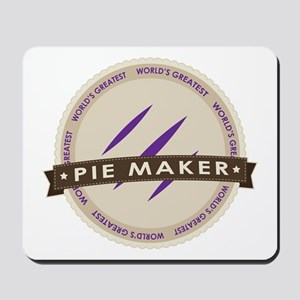Plum Pie Maker Mousepad