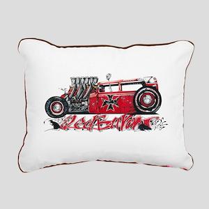 Red Baron Light Rectangular Canvas Pillow