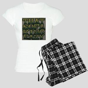 Sofa King Easy Women's Light Pajamas
