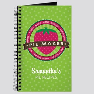 Strawberry Pie Maker Journal