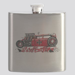 Red Baron Light Flask