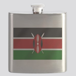 Flag of Kenya Flask