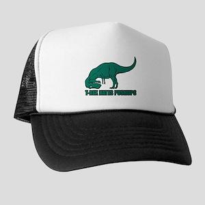 T-Rex Hates Pushups Trucker Hat