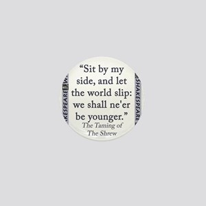 Sit By My Side Mini Button