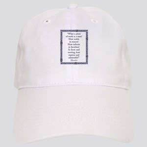 What a Piece of Work Is Man Baseball Cap