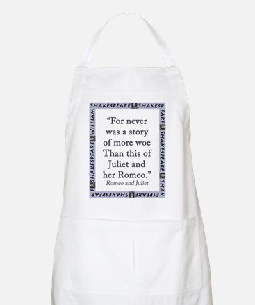 For Never Was a Story Light Apron