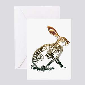 Industrial Hare Greeting Card