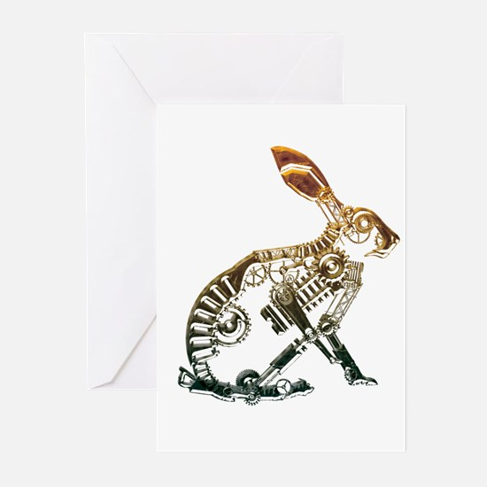 Industrial Hare Greeting Cards (Pk of 10)