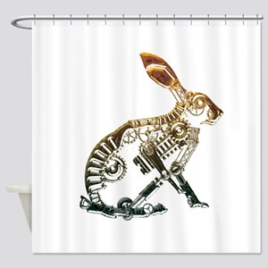 Industrial Hare Shower Curtain
