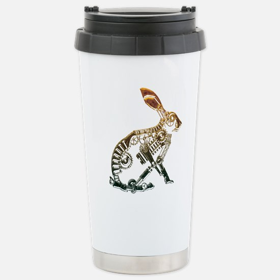 Industrial Hare Stainless Steel Travel Mug