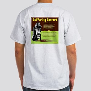 Suffering Bastard Ash Grey T-Shirt