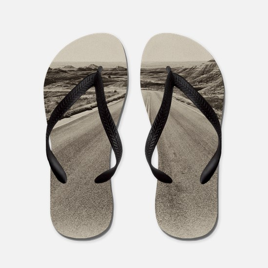 Unique Badland Flip Flops