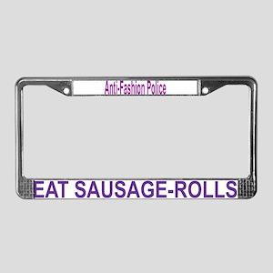 Black humor, Animal fun License Plate Frame