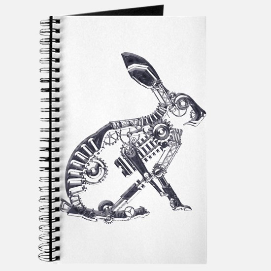Industrial Silver Hare Journal