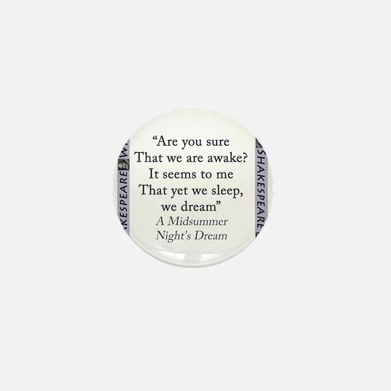 Are You Sure That We Are Awake? Mini Button