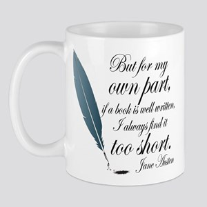 Jane Austen Book Quote Mug