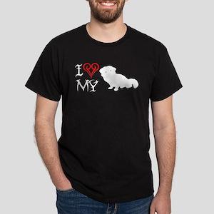 Pekinese Black T-Shirt