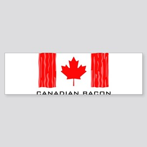 CANADIAN BACON Sticker (Bumper)