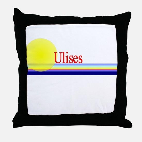 Ulises Throw Pillow