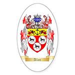 Allan Sticker (Oval 10 pk)