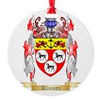 Allanson Round Ornament