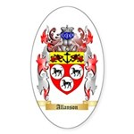 Allanson Sticker (Oval 50 pk)