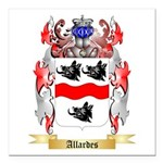 Allardes Square Car Magnet 3