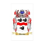 Allardes Sticker (Rectangle 50 pk)