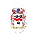 Allardice Oval Car Magnet
